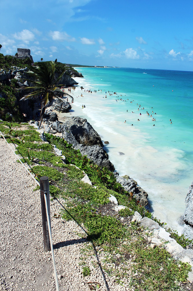 Mayan beach Tulum
