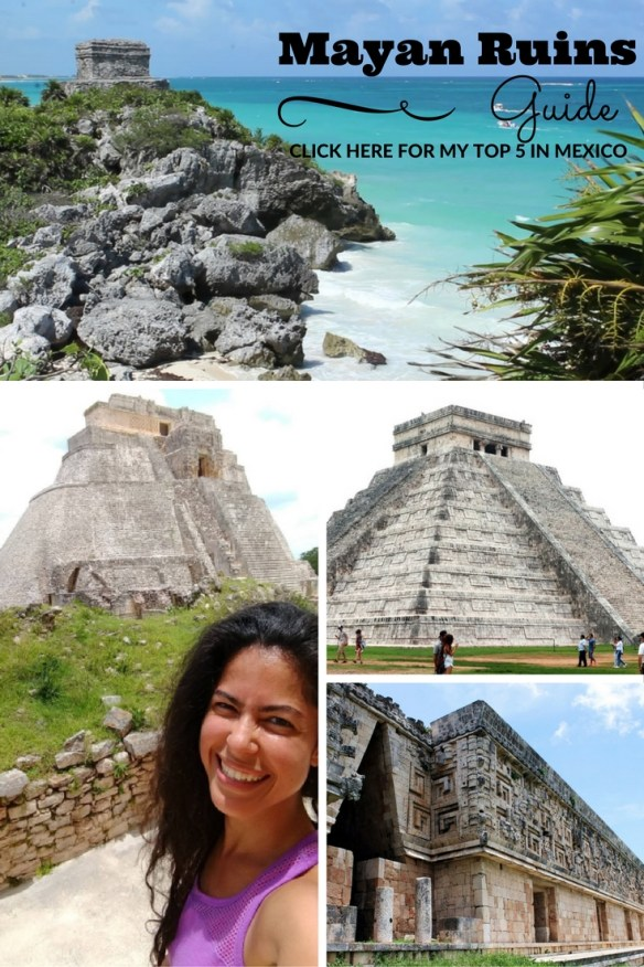 Mayan ruins travel guide: best Yucatán day trips from Playa Del Carmen, Cancun or Merida