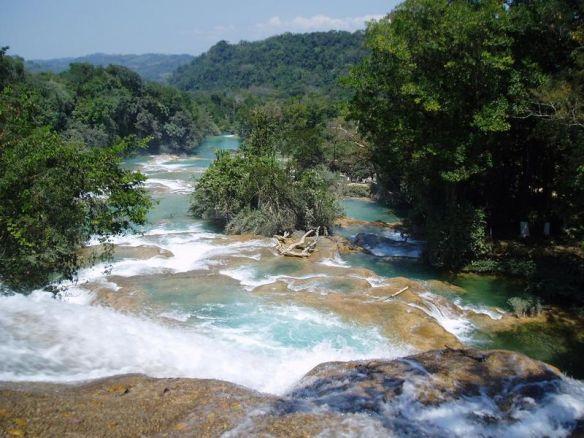 things to do in Chiapas, Agua Azul