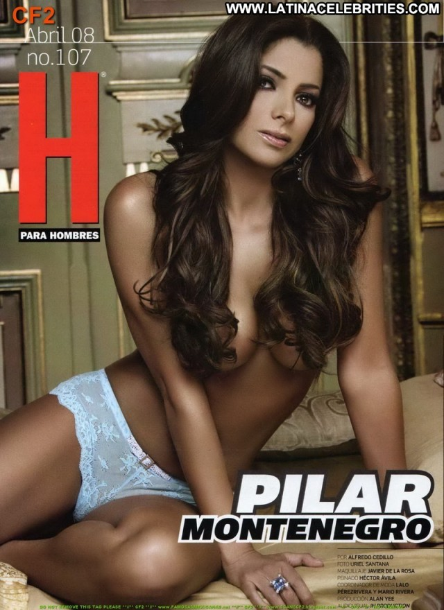 Pilar Montenegro H Para Hombres Latina Singer International Brunette