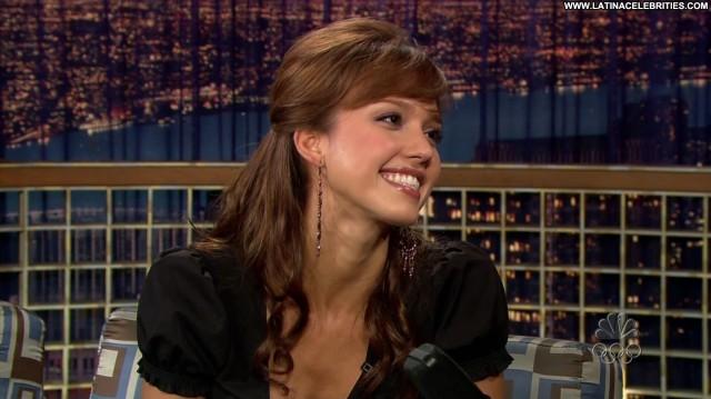 Jessica Alba Late Night With Conan O Brien Brunette Medium Tits Doll