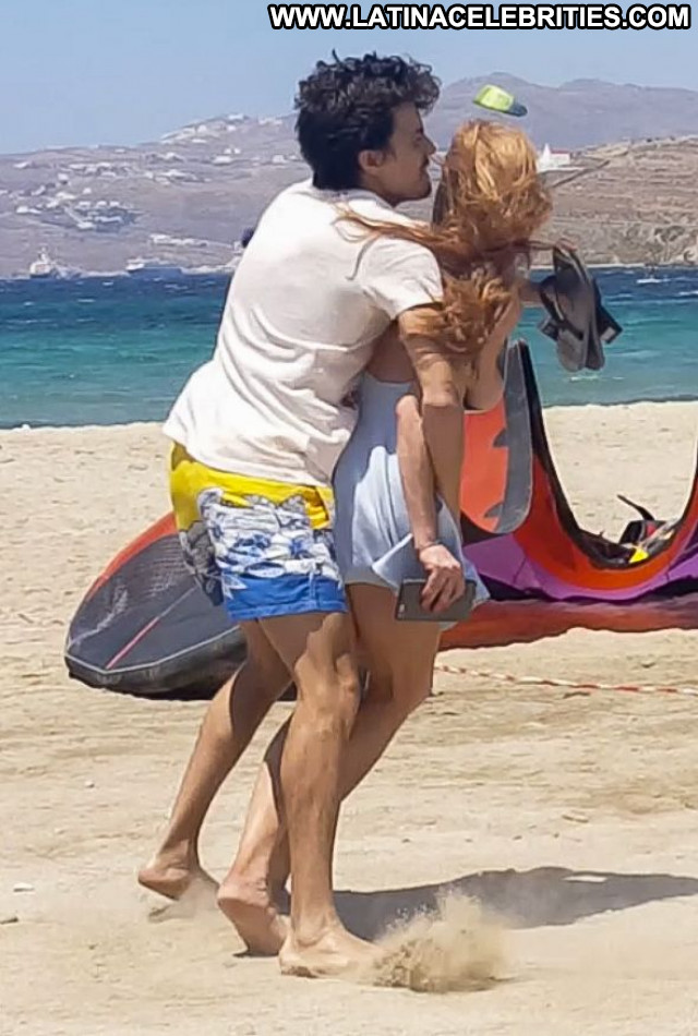 Lindsay Lohan The Beach Babe Boyfriend Posing Hot Tit Slip Beautiful