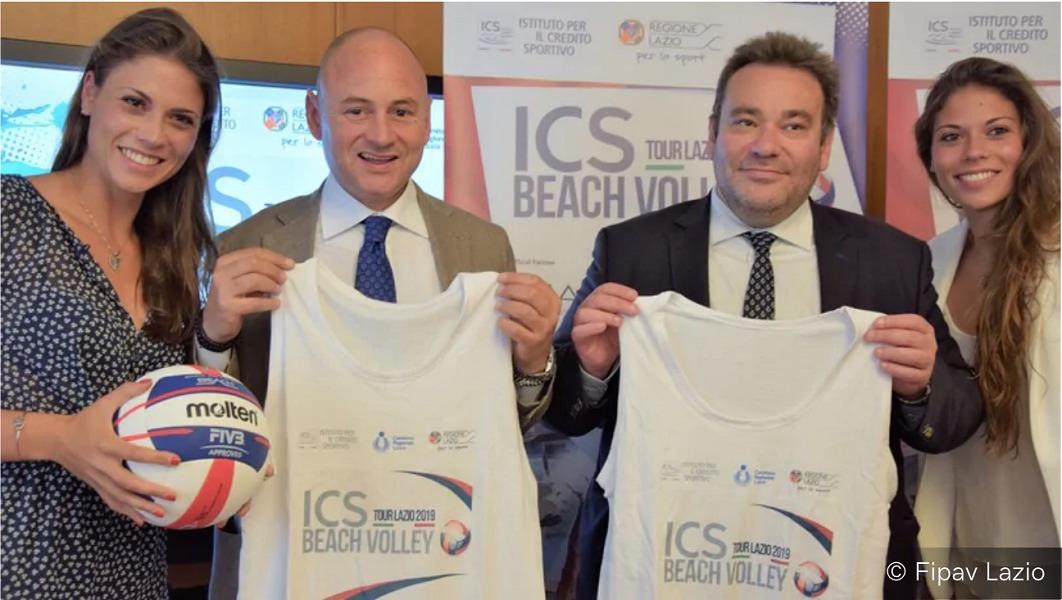 Beach Volley: Ics.8 giugno edizione del tour Lazio