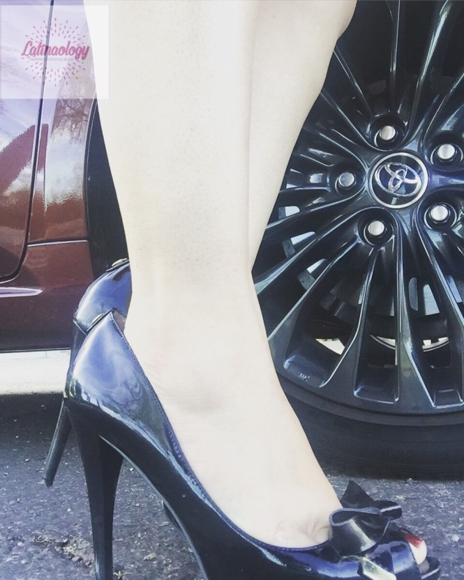 When Your Heels Match your Wheels