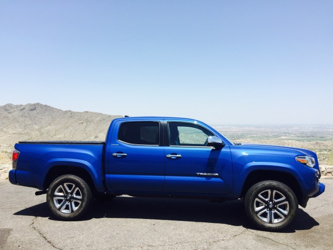 2016 Toyota Tacoma Limited 4x4 Double Cab