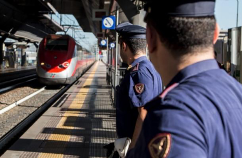 Polizia ferroviaria, maxi operazione nel Lazio: 19 denunce