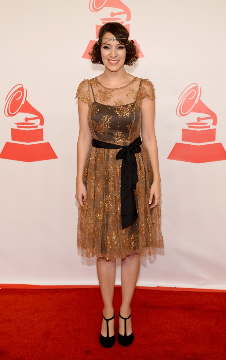 Gaby Moreno Latin Grammy Awards 2013