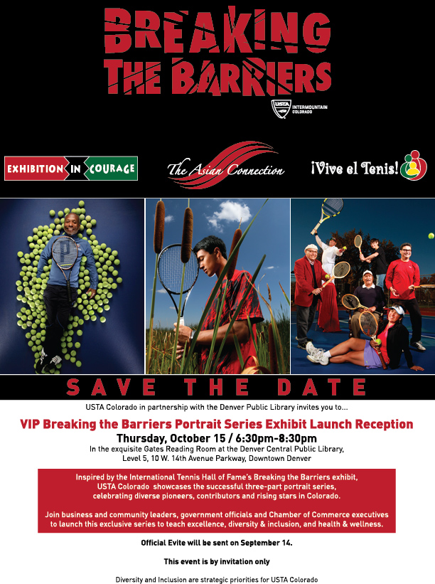 Breaking the Barriars flyer