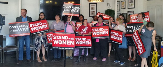 Stand with Women Press Conference 2105 (9)