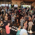 There is also a large indoor area featuring a silent auction, more cuisine and plenty of wine.