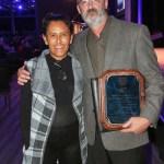 First Unitarian Church. Award presented by Jeanetter Vizuerra, Community Leader & Activist