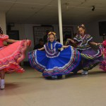 Veterans are entertained by folkloric dancers at the American Skyline Chapter following the parade. Veterans-Day-Parade-Denver-Co-Nov.-11-2017-Shannon-Garcia-Photographer