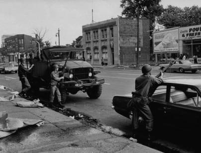 Not published in LIFE. Detroit, July 1967.