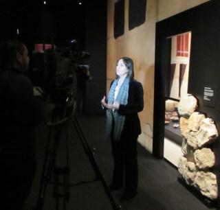 Debora Ben Ami, Senior Curator of the Iron Age & Persian Periods Treasures Department in Jerusalem