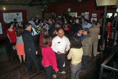 Four term Colorado House Representative and candidate for Colorado Attorney General Joe Salazar was part of more than 200 supporters at Building the Bench fundraiser.