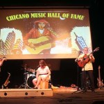 Among the highlights from the week long 2018  Chicano Music Festival were several performances by Radio Flor who came to Denver from the San Francisco Bay Area Just  for the festival