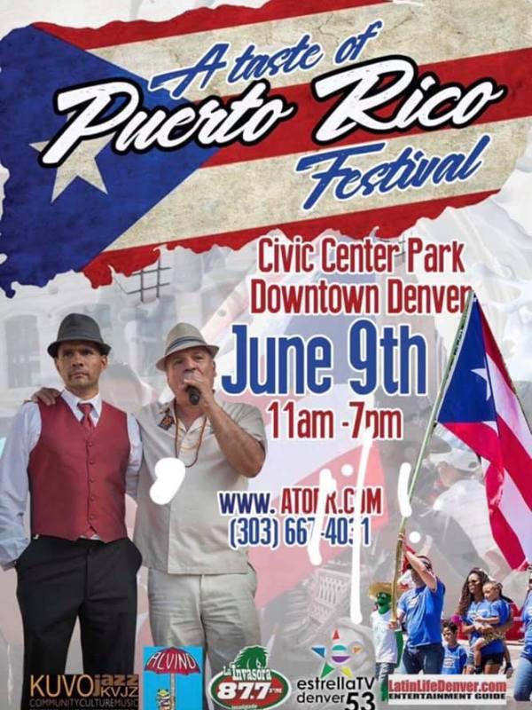 Puerto Rico Festival Poster
