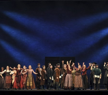The Cast of Fiddler on the Roof. Photo by Joan Marcus.