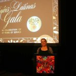 Lucille Rivera Executive Director for CHAC Gallery & Cultural Center  received the Cultural Cura (Culture Cures) Award