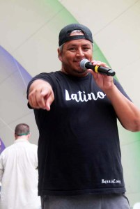 Organizer Jose Beteta, co-organizer of the Colorado Latino Festival along with co-producer Tamil Maldonado