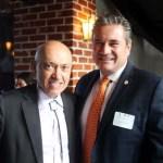 Attorney Michael Sawaya (left)and Denver Police Chief Paul Pazen L.I.F.T. members.