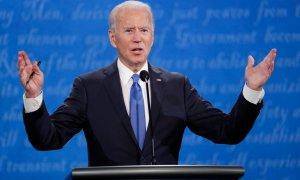 """Biden ve """"criminal"""" la separación de familias migrantes y Trump la defiende"""