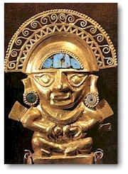 Inka statua