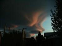 Estratos Cumulos de viento en Los Antiguos