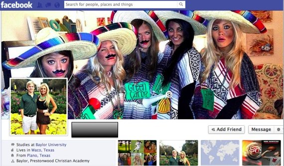 Racist Mexican Images Surface on Public Facebook Profiles of Baylor Students