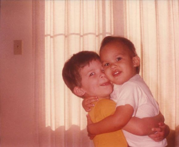 Photo of David (on left) Chris (on right) supplied by the Silva Family.