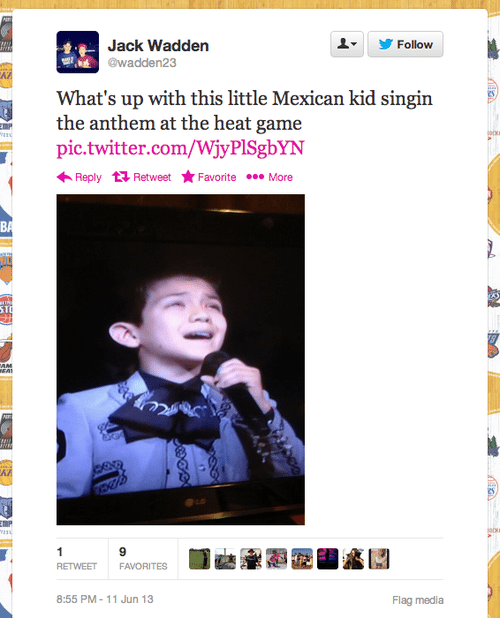 Twitter Goes Ballistic About Mexican American Boy Singing