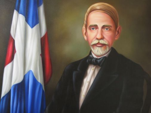 Juan Pablo Duarte painting by Rafael Torres
