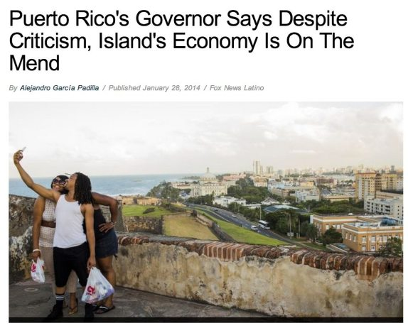 Newest headline of FNL piece, captured around 6pm ET.