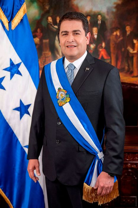 President Juan Orlando Hernández