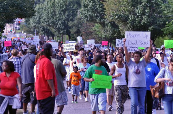 Ferguson, MO. August 15, 2014. (CREDIT: Loavesofbread)