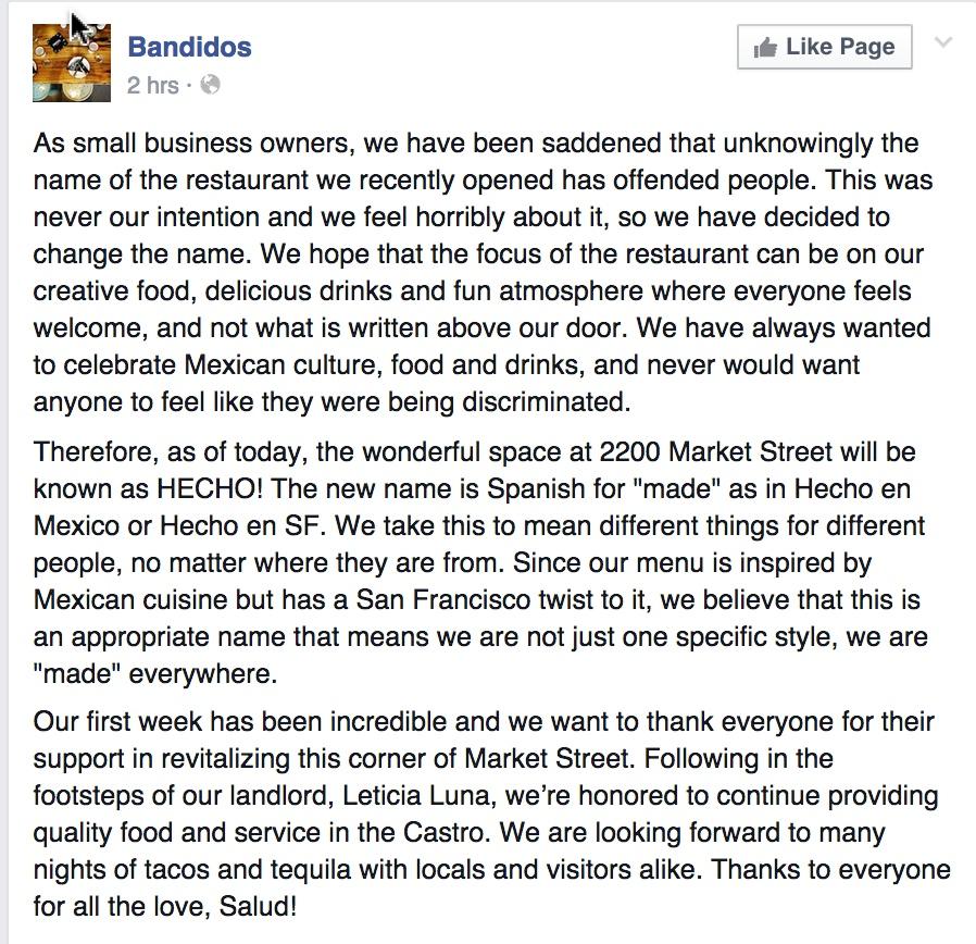 BandidosStatement