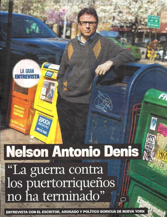 EL NUEVO DIA -- COVER with good COLOR