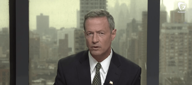 Democratic presidential candidate Martin O'Malley (File photo)