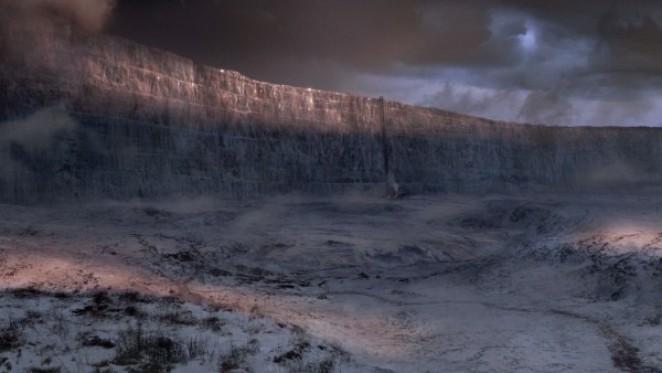 The 300-mile-long, 700-feet-tall wall from Game of Thrones (ArticXiongmao)