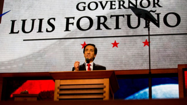 Former Gov. Luis Fortuño at the 2012 Republican National Convention (PBS NewsHour/Flickr)