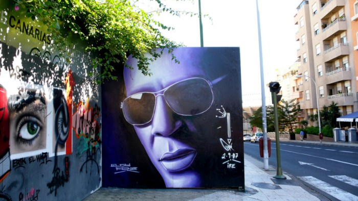 Portrait of Tego Calderón by Eloy Fernández (Jose Mesa/Flickr)