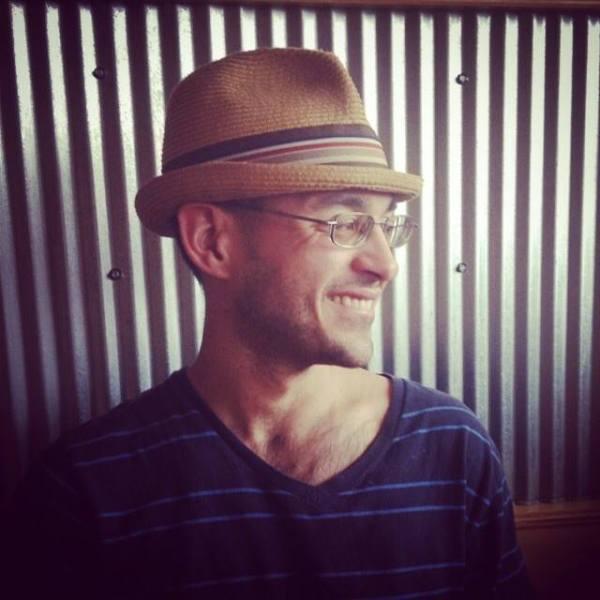 Author Jonathan Marcantoni (Credit: Suset Marcantoni)
