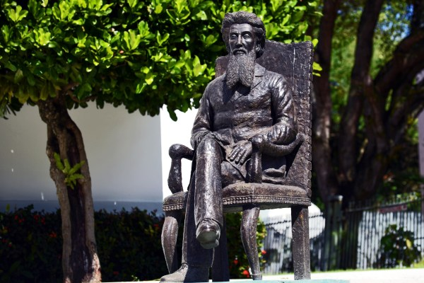 Statue of Dr. Ramón Emeterio Betances at the Puerto Rican Athenaeum (Harvey Barrison/Flickr)