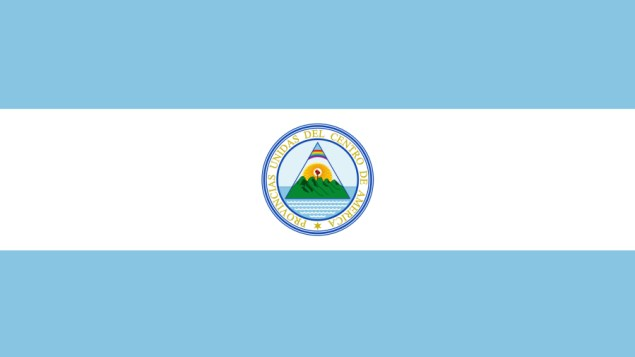 Flag of the Federal Republic of Central America, 1823-1838