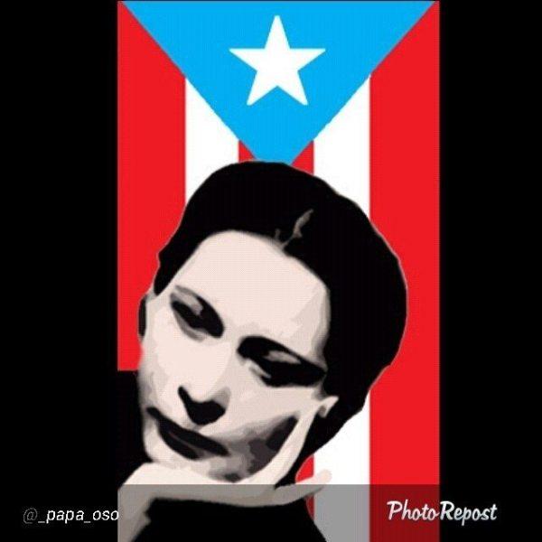 Puerto Rican poet and independentista Julia de Burgos (Pedro/Flickr)