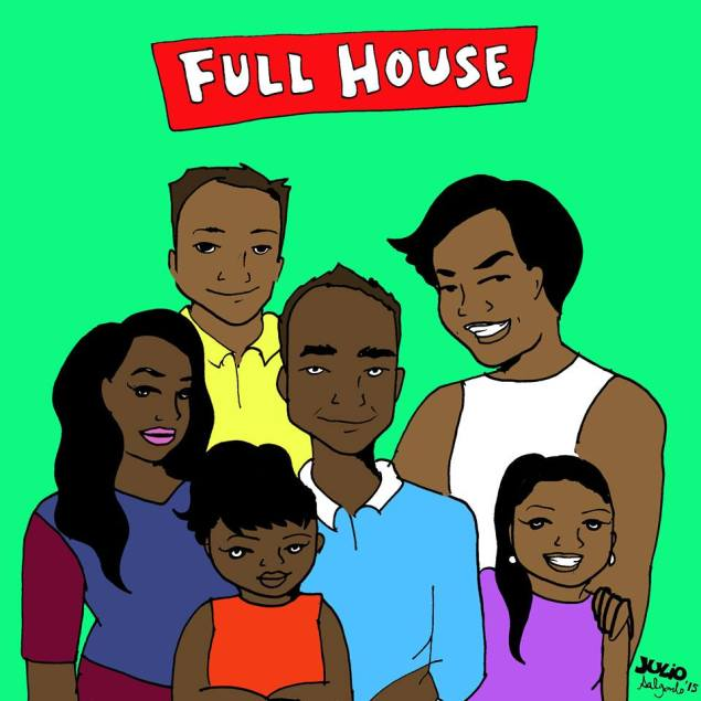 'Full House' set in Daly City with a Filipino cast, an undocumented eldest daughter and a queer Uncle Jesse (Julio Salgado)
