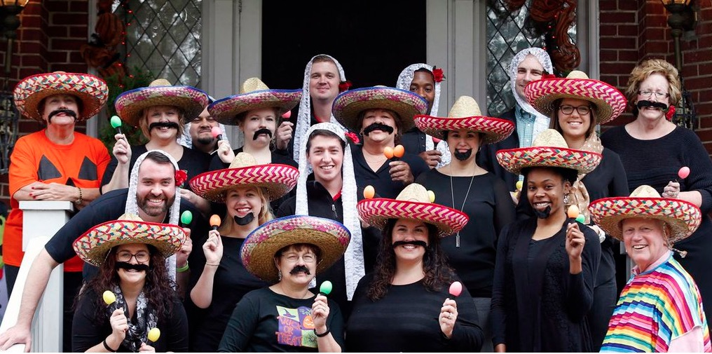 University of Louisville Pres. James Ramsey (far right) poses for a Halloween photo  sc 1 st  Latino Rebels & Keep Your Inner Werebigot at Bay: Donu0027t Dress Up as a u0027Mexicanu0027