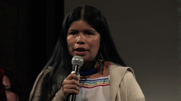 Patricia Gualinga, indigenous rights leader