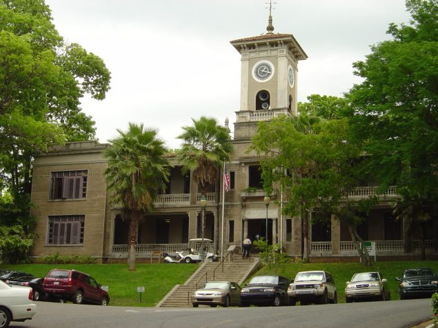 The Rectoría at the University of Puerto Rico at Mayagüez