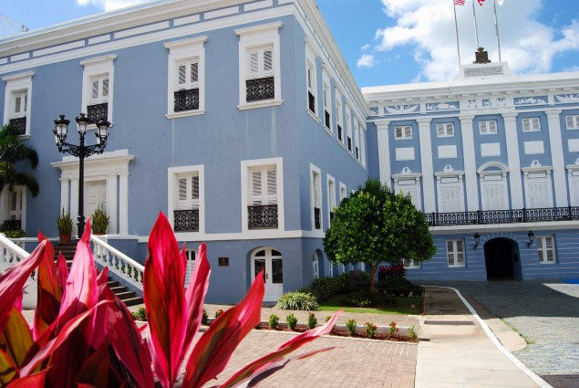 La Fortaleza, the official residence of Puerto Rico's governor (Harvey Barrison/Flickr)
